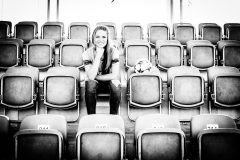 Melanie Leupolz FC Bayern München mit Champions League Ball Foto: Nadine Rupp